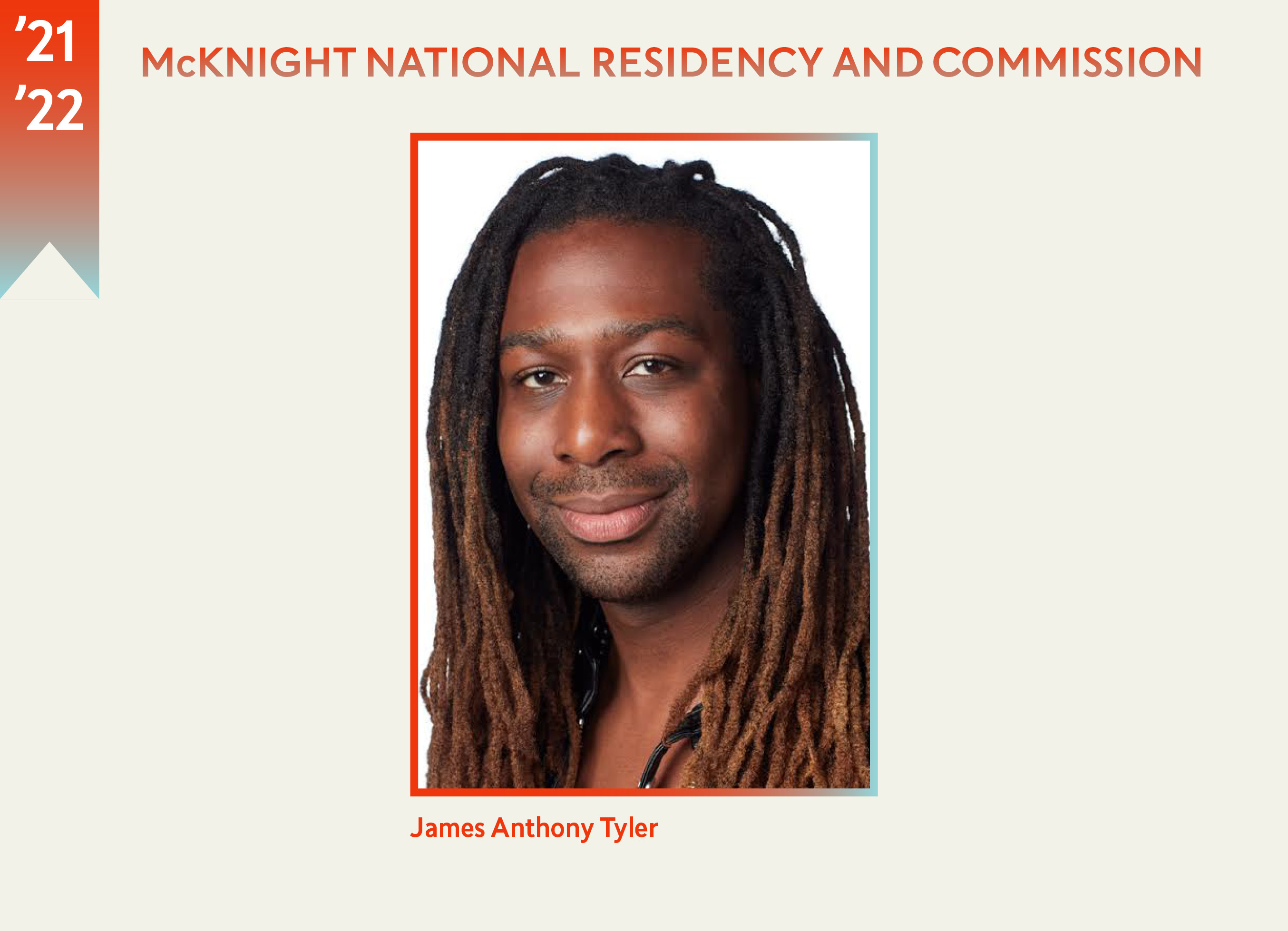 The headshot of James Anthony Tyler