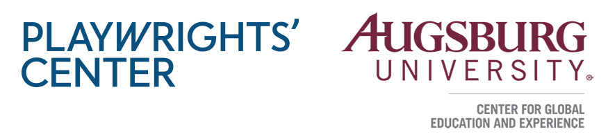 Playwrights' Center and Augsburg University Logo