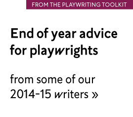 End of year advice from our writers