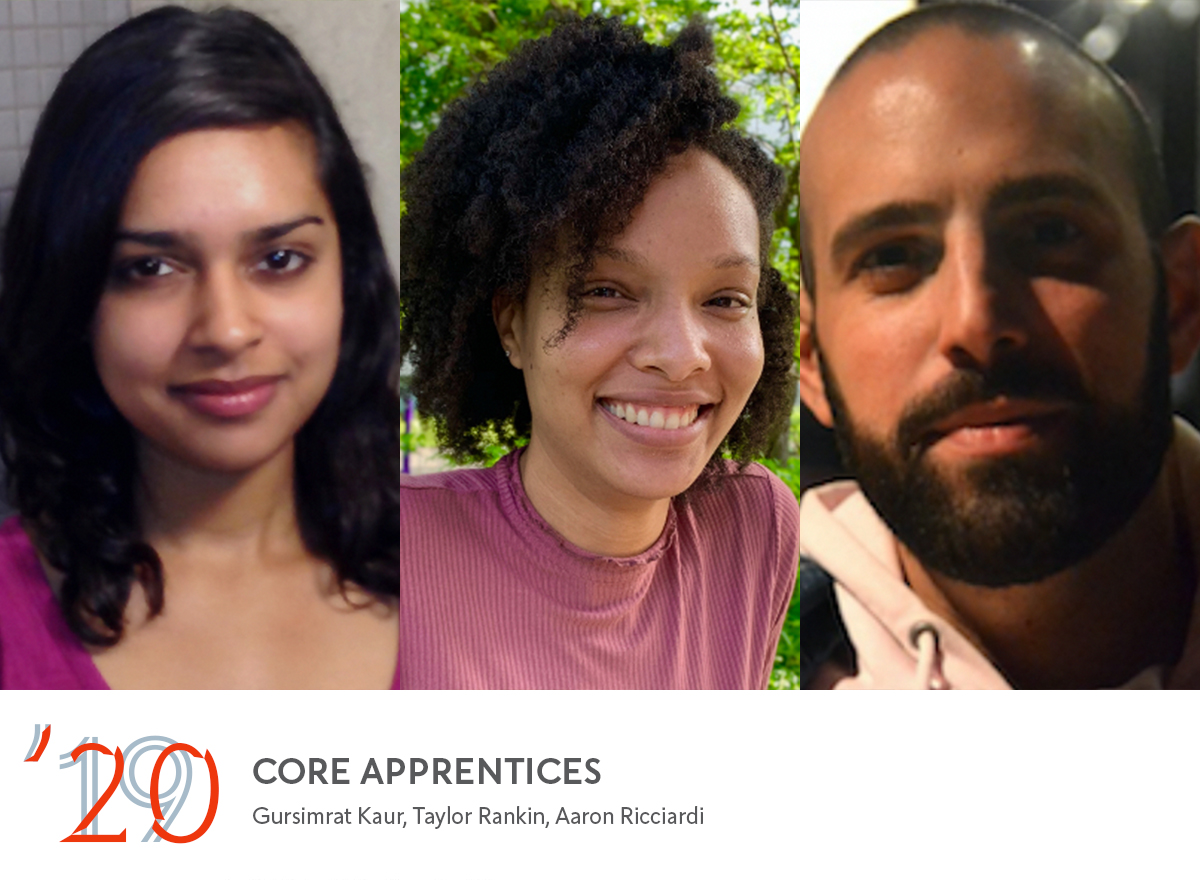 Announcing the 2019-20 Fellows, new Core Writers, and Core
