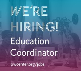 We're hiring an Education Coordinator.