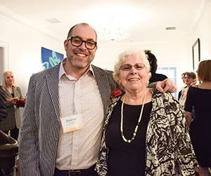 Jeremy B. Cohen and Barbara Field at the Playwrights' Center 45th Anniversary Gala