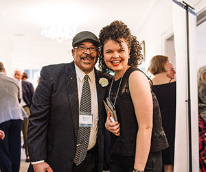 Terry Bellamy and Megan Burns at Playwrights' Center 45th Anniversary Gala