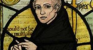 William of Ockham, CC BY-SA 3.0 via Wikimedia Commons