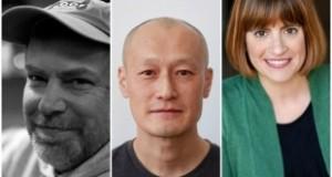 Image of McKnight Theater Artist Fellows: Scott W. Edwards, Masanari Kawahara, and Elise Langer