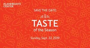 Taste of the Season 2019 Banner