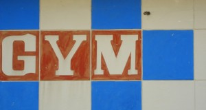 Gym sign - Creative Commons license from Flickr user Martin Abegglen