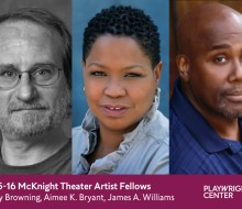 2015-16 McKnight Theater Artist Fellows