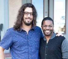 Sharif Abu-Hamdeh and Harrison David Rivers, photo by Heidi Bohnenkamp