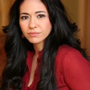 Headshot of playwright Raquel Almazan