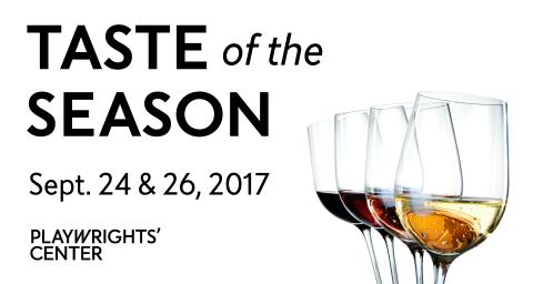 Taste of the Season - Sept 24 & 26, 2017