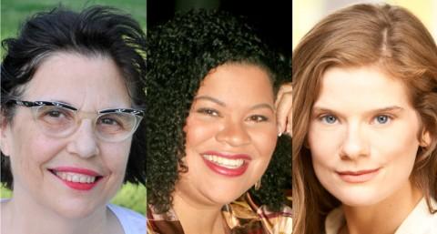 2016-17 McKnight Theater Artist Fellows Sonya Berlovitz, Thomasina Petrus, and Kimberly Richardson