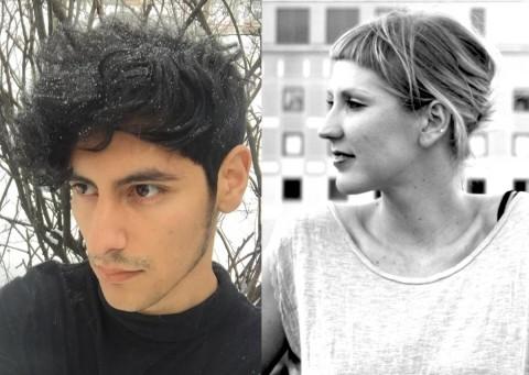 2017-18 McKnight Fellows in Playwriting Benjamin Benne and Rachel Jendrzejewski