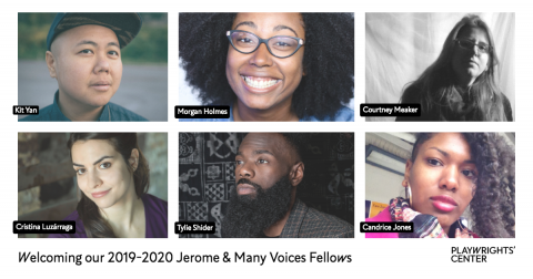 Welcome our 2019-2020 Jerome & Many Voices Fellows