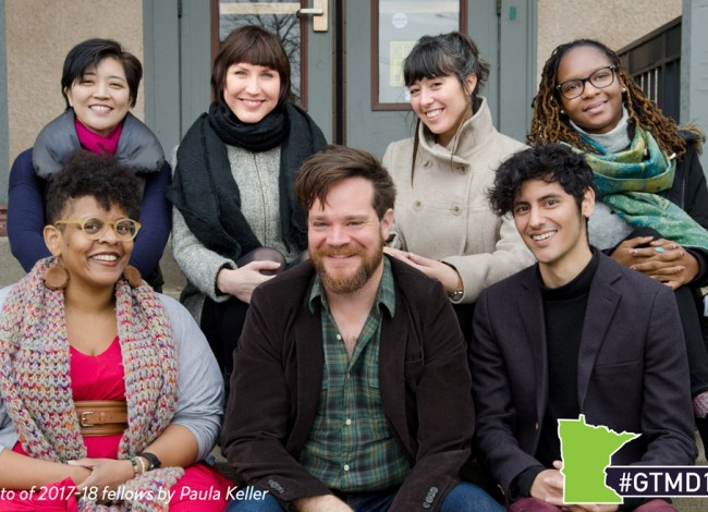 2017-18 fellows, photo by Paula Keller