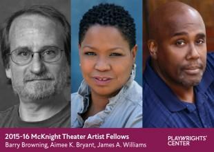 2015-16 McKnight Theater Artist Fellows