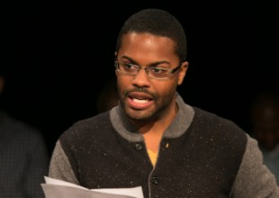 Harrison David Rivers at the PlayLabs Playwriting Fellows Showcase 2014