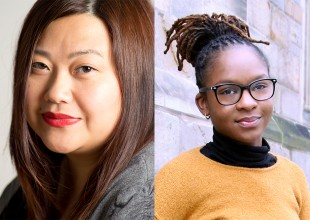2018-19 McKnight Fellows in Playwriting May Lee-Yang and Tori Sampson