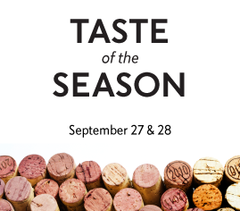 Taste of the Season 2015, September 27 and 28